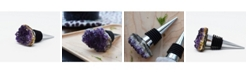 Nature's Decorations - Wine Stopper with Amethyst