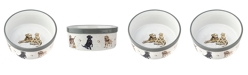 Royal Worcester Wrendale Pet Bowl Assorted Dogs