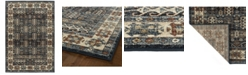 "Kaleen McAlester MCA02-17 Blue 5'3"" x 7'3"" Area Rug"