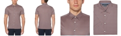 Perry Ellis Men's Printed Stretch Regular-Fit Shirt