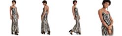 Marciano Sequin Mesh Gown