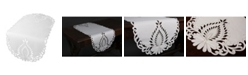 """Xia Home Fashions Wilshire Embroidered Cutwork Table Runner, 16"""" x 70"""""""