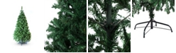 Perfect Holiday 7' Classic Evergreen Christmas Tree