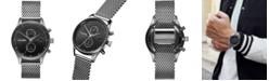 MVMT Men's Voyager Sterling Stainless Steel Mesh Bracelet Watch 42mm