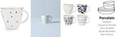 Lenox Blue Bay Dessert Mug Dot