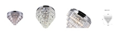 CWI Lighting CLOSEOUT! Weiss 7 Light Flush Mount