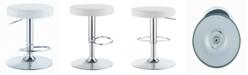 Coaster Home Furnishings Chandler Round Adjustable Height Bar Stool