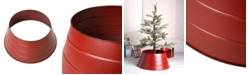 """Glitzhome 22"""" D Painted Metal Tree Collar"""