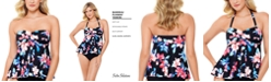 Swim Solutions Flyaway Tankini Top, Created for Macy's
