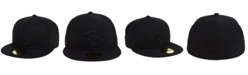 New Era LSU Tigers Core Black on Black 59FIFTY Fitted Cap