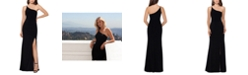 XSCAPE One-Shoulder Gown