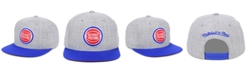 Mitchell & Ness Detroit Pistons 2 Tone Classic Snapback Cap