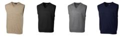 Cutter & Buck Cutter and Buck Men's Big and Tall Douglas V-Neck Sweater Vest