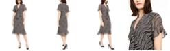 Michael Kors Printed Tie Dress