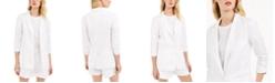 Michael Kors Shirred-Sleeve Blazer