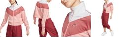 Nike Women's Sportswear Heritage Cropped Track Jacket