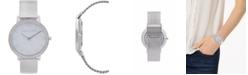 Rebecca Minkoff Womens Major Stainless Steel Mesh Bracelet Watch 35MM