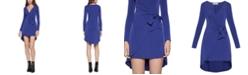 BCBGeneration High-Low Wrap Dress