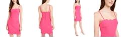 City Studios Juniors' Scalloped Bodycon Dress