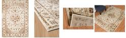 """Asbury Looms Bridges Ponte Vecchio 3001 00497 58 Cream 5'3"""" x 7'2"""" Area Rug"""