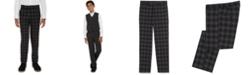Calvin Klein Big Boys Shadow Check Dress Pants