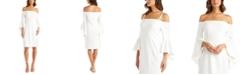 R & M Richards Off-The-Shoulder Sheath Dress