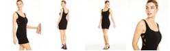 B Darlin Juniors' Mesh-Inset Bodycon Dress