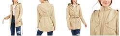 Jou Jou Juniors' Hooded Trench Coat