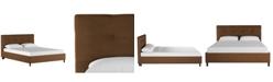 Skyline Nicholas Tufted Platform Bed - King