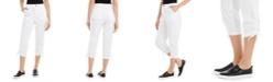 Style & Co Tie-Hem Capri Pants, Created for Macy's