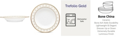 "Noritake Trefolio Gold Pasta Bowl, 11"", 30 Oz."