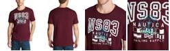 Nautica Men's NS83 Logo Graphic T-Shirt