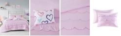 Mi Zone Sophia Scalloped 4-Piece Full/Queen Comforter Set