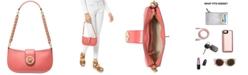 Michael Kors Carmen Leather Shoulder Bag