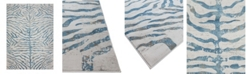 Hotel Collection CLOSEOUT! Bandipur HB-20 Blue 8' x 11' Area Rug