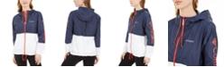 Columbia Plus Size Hooded Rain Jacket