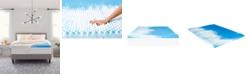 "Comfort Revolution 3"" Reversible Convoluted Memory Foam Mattress Toppers"