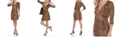 White Mark Women's Mariah Wrap Dress