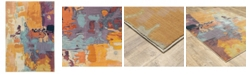 """JHB Design Arcadia ARC05 Orange 9'10"""" x 12'10"""" Area Rug"""