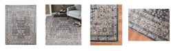 """Amer Rugs Belmont BLM-3 Charcoal 3'11"""" x 5'11"""" Area Rug"""