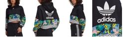 adidas adidas Women's HER Studio London Cropped Cotton Hoodie