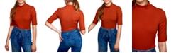 Self Esteem Juniors' Rib-Knit Mock-Neck Bodysuit