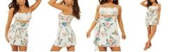 GUESS Keely Wrap Cutout Dress