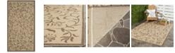 """Martha Stewart Collection Swirling Garden MSR4251 Creme 2'7"""" x 5' Area Rug"""