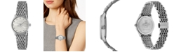 Gucci Women's Swiss G-Timeless Stainless Steel Slim Bracelet Watch 29mm