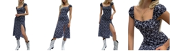 French Connection Printed Midi Dress