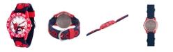 ewatchfactory Marvel Spider-Man Boys' Red Plastic Watch 32mm