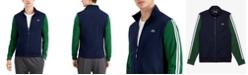 Lacoste Men's SPORT Long Sleeve Performance Pique Colorblock Sweatshirt