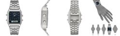 Armitron Men's Analog-Digital Stainless Steel Bracelet Watch 32.5mm