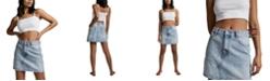 COTTON ON Women's The Classic Denim Skirt